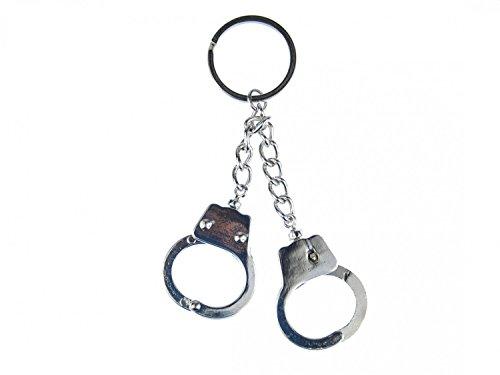 Daumenschellen-Schlüsselanhänger mit Ring